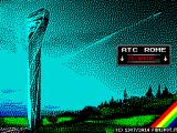 Air Traffic Control Rome ZX Spectrum Loading screen