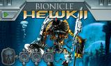 BIONICLE Mahri: Command Toa Hewkii Browser Title screen.