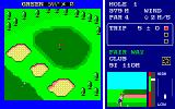 World Golf PC-88 On the fairway