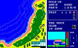 World Golf PC-88 Training on the last (18th hole)