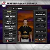 Rugby 2004 PlayStation 2 The player creation screen