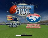 AFL Live 2004 PlayStation 2 The load screen of a match, this is a historic match, shows the club logos