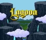 Lagoon SNES Title screen