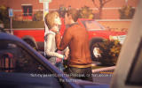 Life is Strange: Episode 1 - Chrysalis Windows Max is confronted in the parking lot.
