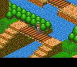 Lady Stalker: Kako kara no Chōsen SNES Crossing a river