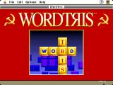 Wordtris  Macintosh Title screen