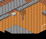 Lady Stalker: Kako kara no Chōsen SNES More complicated puzzle: make a staircase from the stone and the crate