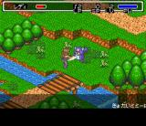 Lady Stalker: Kako kara no Chōsen SNES Fighting a pesky violet cat