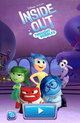 Inside Out: Thought Bubbles Android Title screen