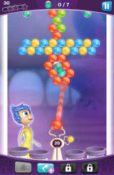 Inside Out: Thought Bubbles Android A Rescue Mission where you need to save a number of characters surrounded by memories.