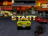 Midnight Run: Road Fighter 2 Arcade 3, 2, 1, START! And they're off..