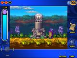 Shantae: Risky's Revenge iPad This Warp Squid statue lets you warp to its brother. There are several pairs in the game that can warp you to each other.