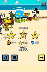 Where's My Mickey? Android Level completion screen (free version)
