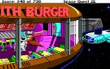 Space Quest III: The Pirates of Pestulon DOS Welcome to Monolith Burger!