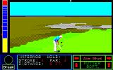 Jack Nicklaus' Greatest 18 Holes of Major Championship Golf PC-88 Putting on the first hole