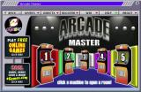 Arcade Master Windows The game browser groups the games into five 'rooms'