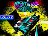 Nightmare Rally ZX Spectrum Title screen