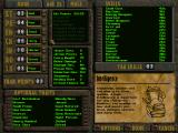 Fallout DOS ...or create your own one. This will also be your character screen in the game. Note the different ratings for attributes and their descriptions