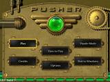 Pusher Windows Main menu