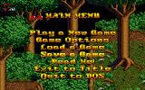Realms of Chaos DOS In-game menu.