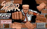 Street Fighter Amiga Title