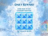 Frozen: Free Fall iPad Pick a square for daily reward
