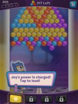 Inside Out: Thought Bubbles iPad Joy's power meter is charged