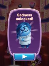 Inside Out: Thought Bubbles iPad I have unlocked Sadness