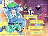 Fantasy Explorer Nitroid! Windows Title screen