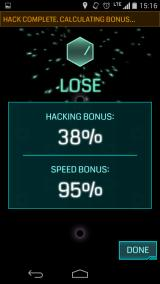 Ingress Android Succeeding at the easiest glyph minigame in history