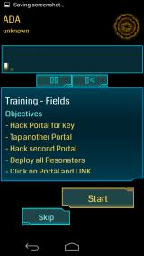 Ingress Android Audio multimedia content explaining basic game concepts in the training mode