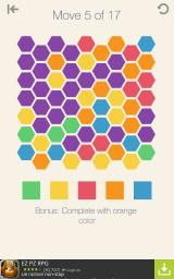 Colors United Android A puzzle with hexes