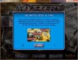 Mystery P.I.: The Lottery Ticket Windows A player help function can be accessed from the main menu. It consists of four simple screens like this<br>here the player is being told how to unlock the bonus content