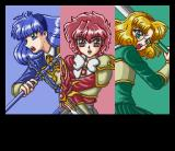 Magic Knight Rayearth SNES Yay! Three hot babes in this mega-spicy erotic adventure!!... Uhh... Sorry, wrong game