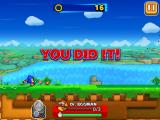 Sonic Runners iPad You did it!