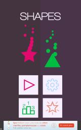 Shapes: Match & Catch Android Main menu