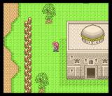 Magic Knight Rayearth SNES In a village