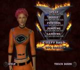 Freekstyle PlayStation 2 Rider selection.