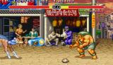 Super Street Fighter II Sharp X68000 Chun-Li vs Blanka