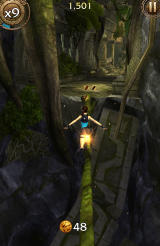 Lara Croft: Relic Run Android A sturdy vine to cross the gap.