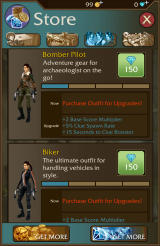 Lara Croft: Relic Run Android There are a few different outfits
