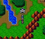 Magna Braban: Henreki no Yusha SNES Outside the castle