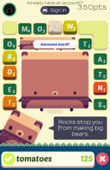 Alphabear Android This game is almost finished.