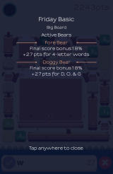 Alphabear Android Results