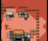 Metal Max 2 SNES Grapplers' attack on Mado City