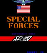Special Forces: Kung Fu Commando Arcade Title screen