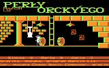 Perły Orcky'ego Atari 8-bit One wrong step will cost a life