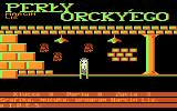 Perły Orcky'ego Atari 8-bit West end of the labyrinth