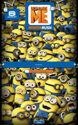 Despicable Me: Minion Rush Android The game needs to download additional data when you start it for the first time.