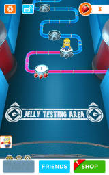 Despicable Me: Minion Rush Android Level progress through the first section of the Jelly Lab